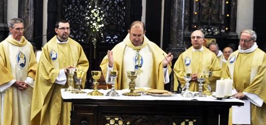 16 octobre 2016 : Ordination diaconale de Fernand Detry