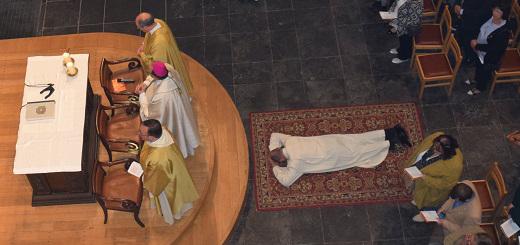 30 septembre 2018 : ordination diaconale de Claude Lenoir